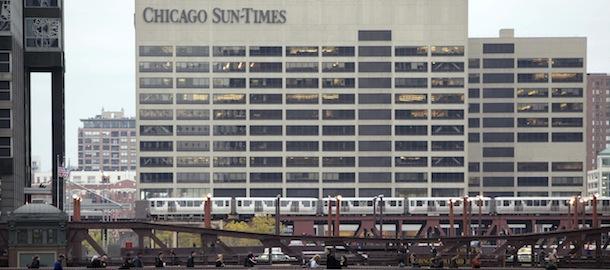 Chicago Sun Times Photographer Layoffs