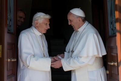 papa benedetto XVI torna in vaticano