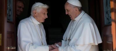 Le foto dei papi in Vaticano
