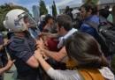 Gli scontri a Istanbul in Turchia