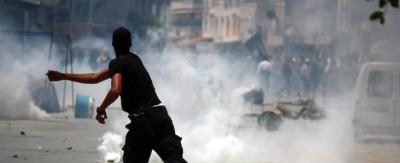 Le foto degli scontri in Tunisia