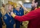 Partenza Soyuz con Luca Parmitano