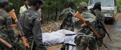 L'attacco dei maoisti in India