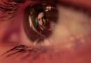 Un video in un occhio