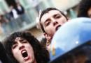 Sulle proteste contro Berlusconi