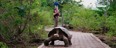 Google Street View alle Galapagos