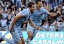 La Lazio ha vinto la Coppa Italia battendo la Roma 1-0