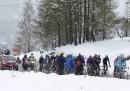 La neve sul Giro d'Italia