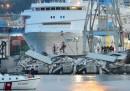 Genova, il disastro al porto