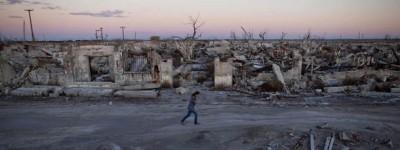 La città riemersa in Argentina