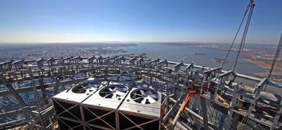 New York da 541 metri di altezza
