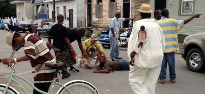 La sparatoria a New Orleans
