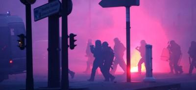 Gli scontri a Parigi alla festa del Paris St. Germain