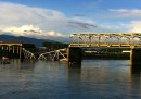 Il crollo del ponte nello Stato di Washington