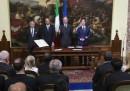 Il giuramento dei viceministri e dei sottosegretari del nuovo governo
