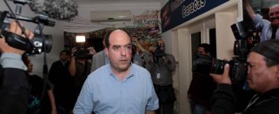 La rissa in parlamento in Venezuela