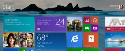 Come è fatto Windows 8.1