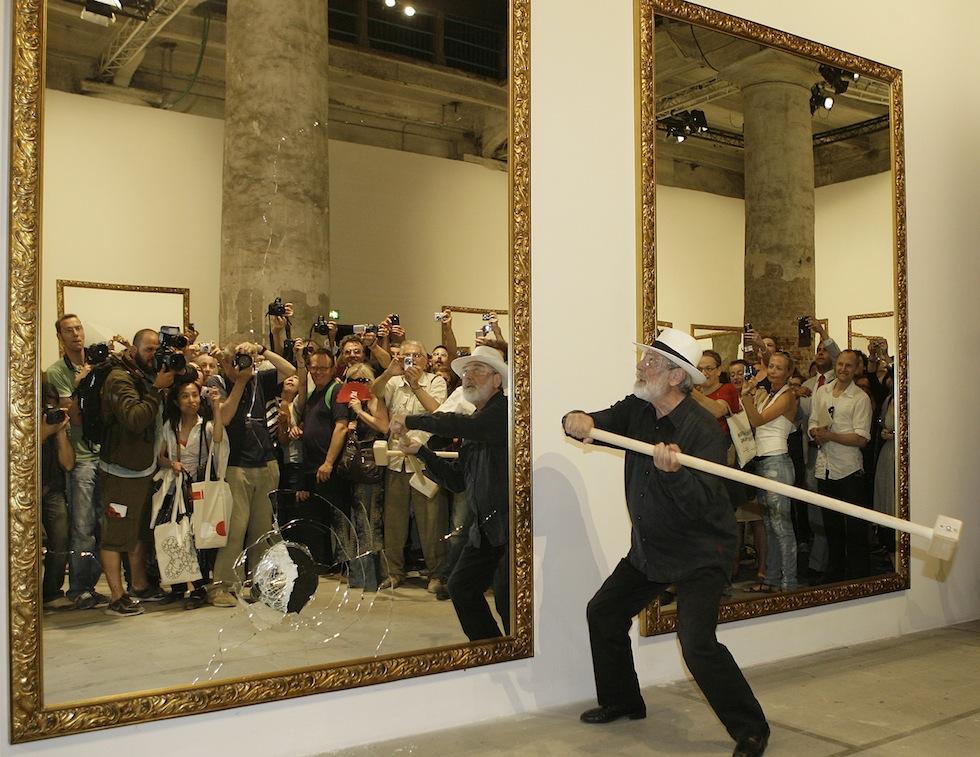 Michelangelo pistoletto e l 39 arte povera il post - Michelangelo pistoletto specchi ...