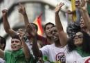 Continuano le proteste in Brasile