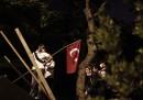 Notte di proteste e scontri in Turchia