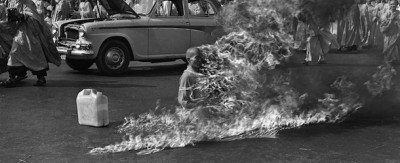 "Le foto del ""burning monk"", 50 anni fa"