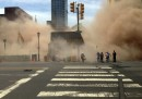 Crollo di un palazzo a Philadelphia