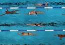 Nuotatori dall'alto