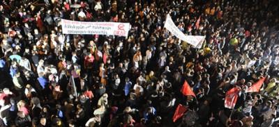 Le proteste per la tv pubblica greca