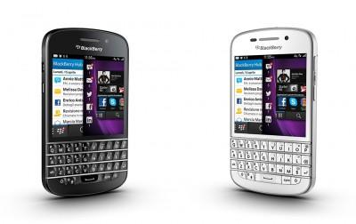 Il BlackBerry Q10 in Italia