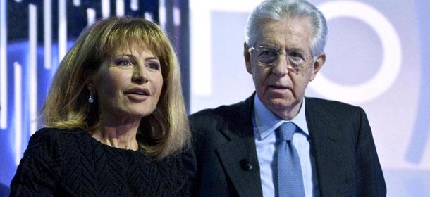"""Mario Monti ospite alla trasmissione """"Otto e Mezzo"""""""