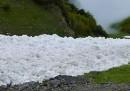 Il fiume di neve a Innsbruck - video