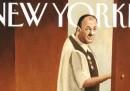 La copertina del New Yorker con Tony Soprano