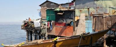 Le palafitte abusive a Manila