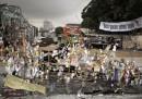 La distruzione del parco Gezi è stata sospesa