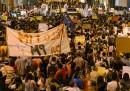 Un'altra notte di proteste in Brasile
