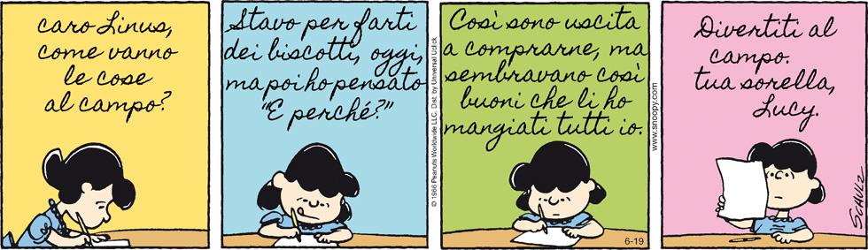 Peanuts 2013 Giugno 19 Il Post