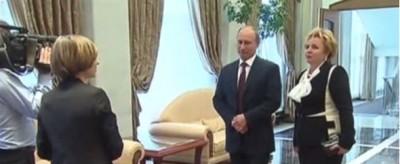 Putin ha annunciato in tv la fine del suo matrimonio