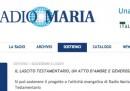 I testamenti per Radio Maria
