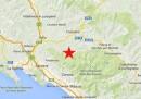 Il terremoto vicino a Massa