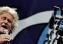La conferenza stampa di Beppe Grillo dopo l'incontro con Giorgio Napolitano