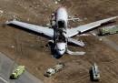 Il nuovo video dell'incidente aereo a San Francisco