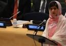 Malala Yousafzai alle Nazioni Unite