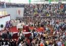 I funerali a Pozzuoli per l'incidente del pullman