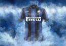 Le nuove maglie dell'Inter