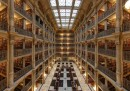George Peabody Library, USA