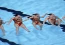 Nuoto sincronizzato a Barcellona