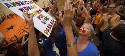 La legge contro l'aborto in Texas