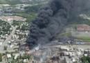 Il grande incendio in Canada