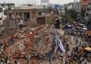 L'albergo crollato a Secunderabad, in India