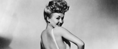 Betty Grable, la pin-up